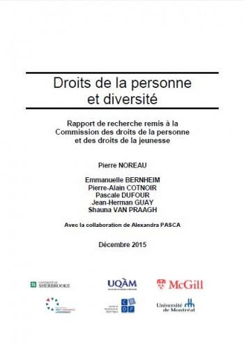 Droits de la personne et diversité