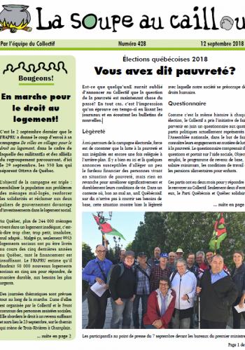 Élections québécoises 2018: Vous avez dit pauvreté?