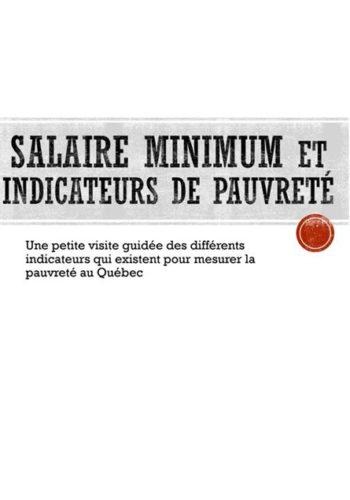 Comment mesurer la pauvreté au Québec?