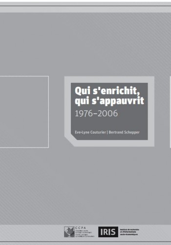Qui s'enrichit, qui s'appauvrit 1976-2006