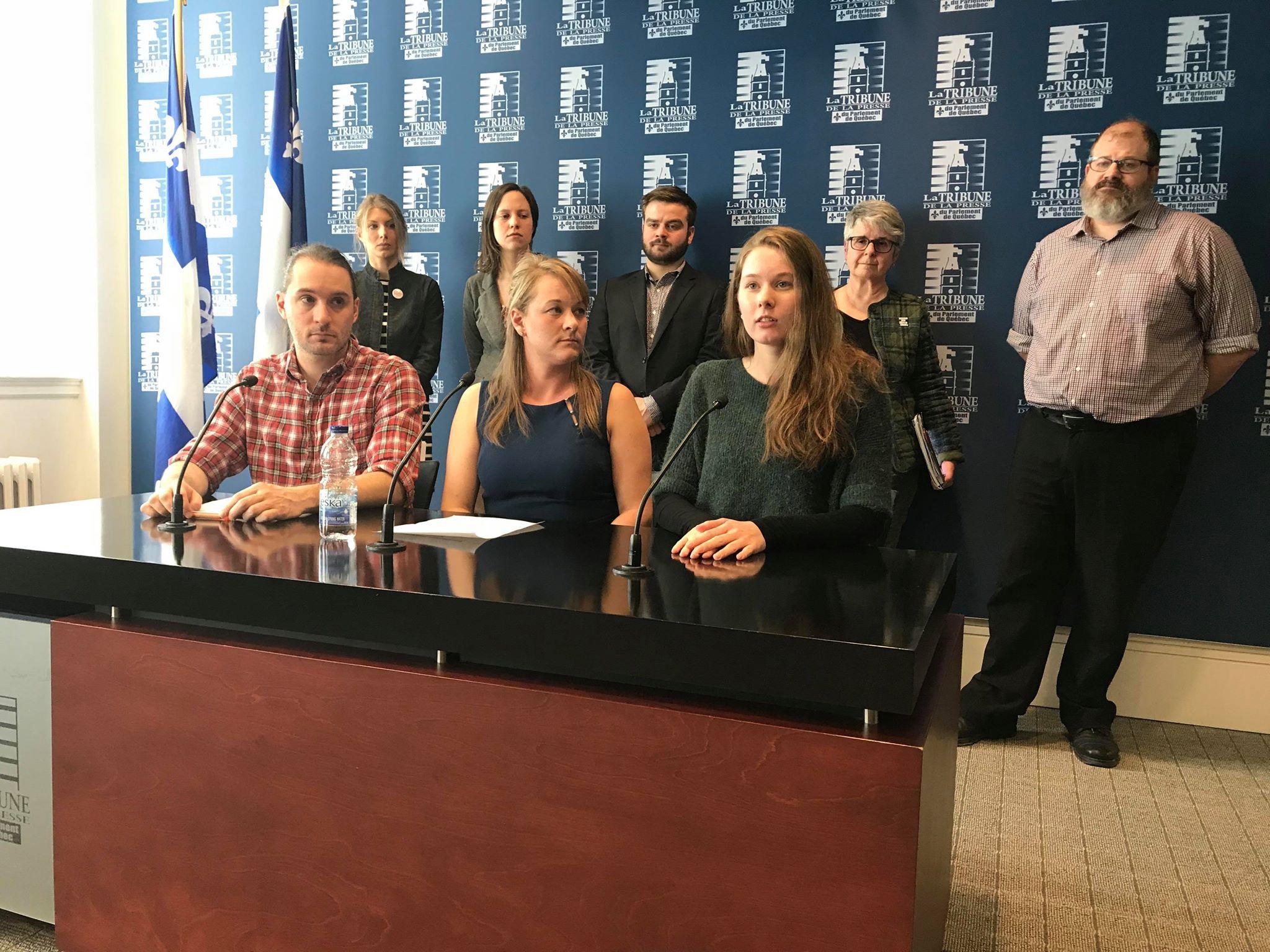 Budget 2018 Quebec N A Aucune Excuse Pour Continuer A Priver Des