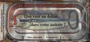 Le dollar solidaire 2005 - verso