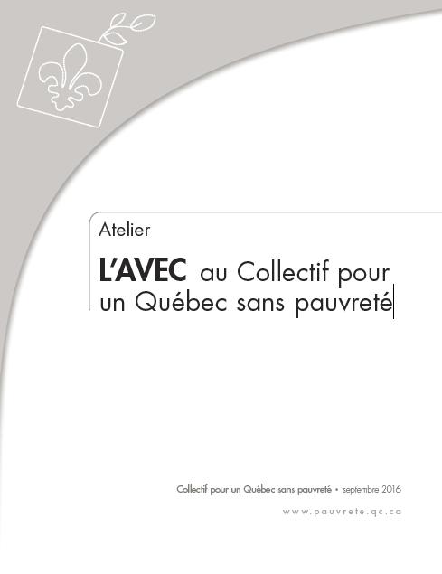 L'AVEC au Collectif pour un Québec sans pauvreté
