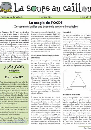 La magie de l'OCDE (ou comment justifier une économie injuste et inéquitable)