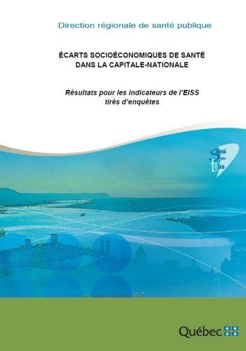 Écarts socioéconomiques de santé dans la Capitale-Nationale