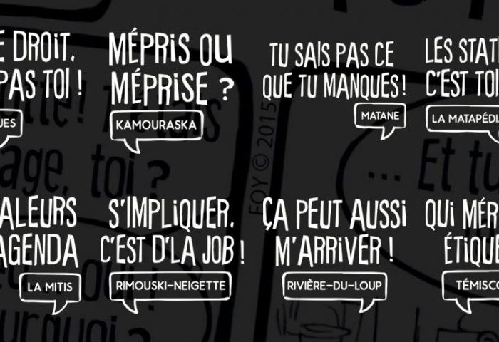 """Campagne """"Du préjugé à la dignité"""""""