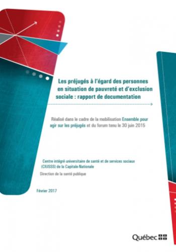 Les préjugés à l'égard des personnes en situation de pauvreté et d'exclusion sociale